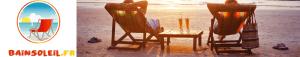 chiliennes sur une plage