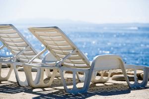 Bain de soleil de plage en plastique